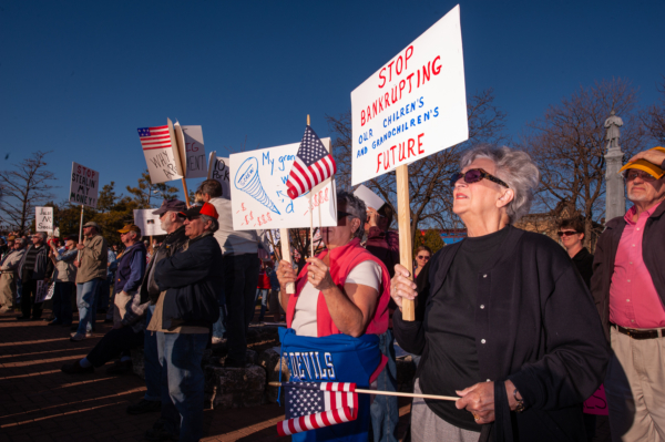 National TEA Party Protest, Fond du Lac, WI 2009